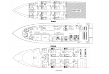 Maldives, Adora floor plan