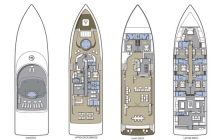 Maldives, Blue Force One (Leo) floor plan