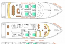 Maldives, Carpe Novo floor plan