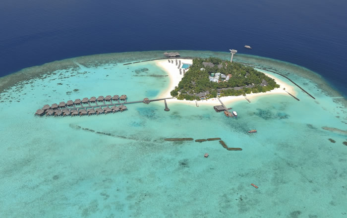 Hotels in maldives: Maafushivaru Island Resort