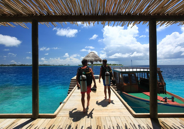 Hotels in maldives  : Six Senses Laamu