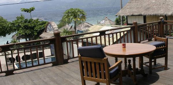 Hotels in gili islands and lombok  : Blue Marlin Bungalows