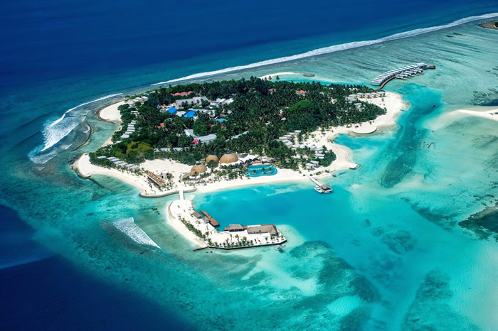 Hotels in maldives  : Kandooma Resort