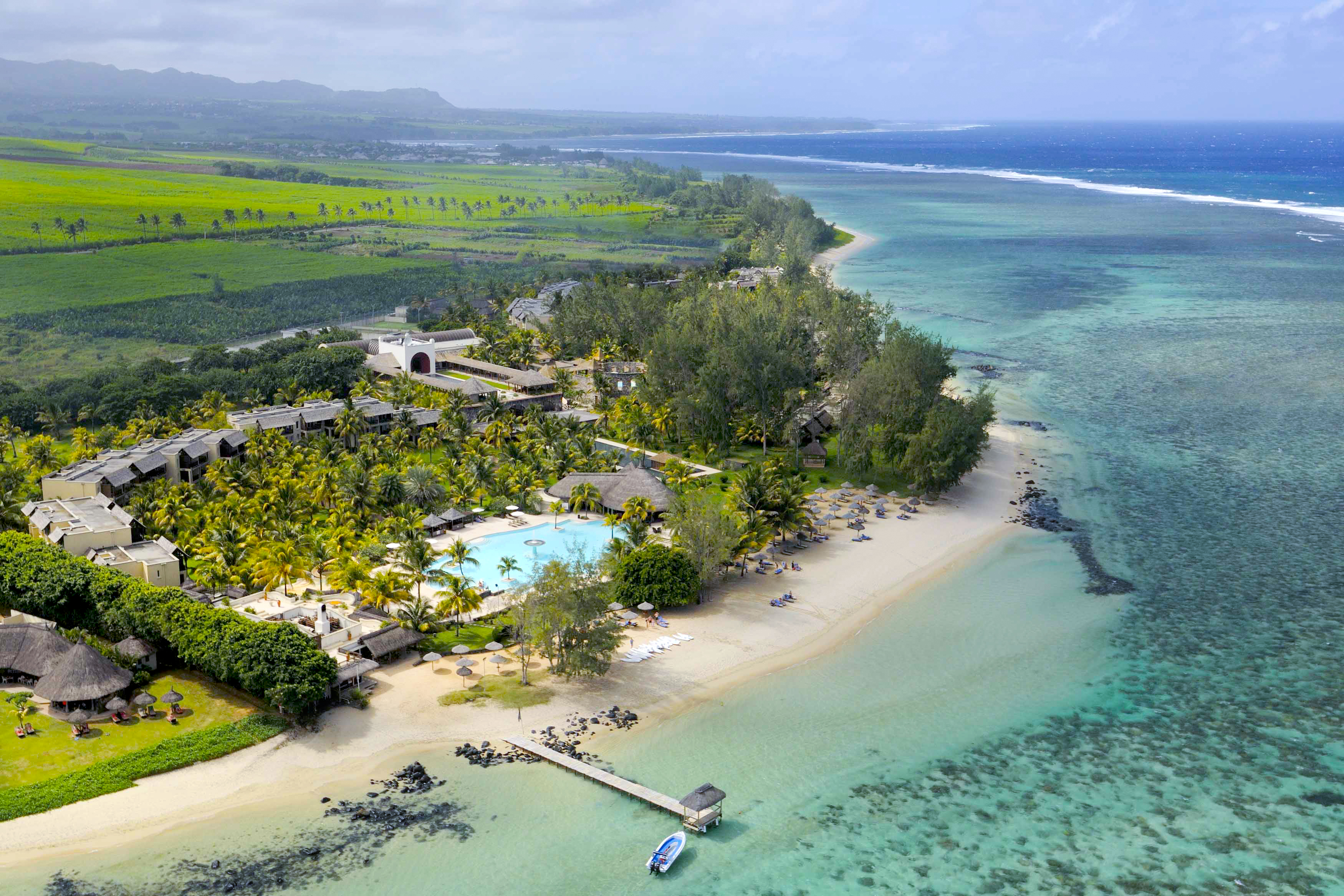Hotels in mauritius island  : Outrigger Mauritius Resort and Spa