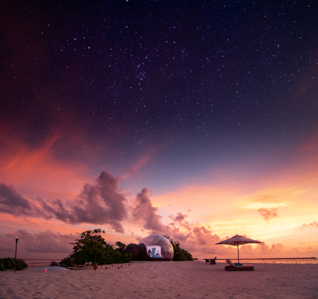 Finolhu-Maldives-launches-Beach-Bubble-Tent-1
