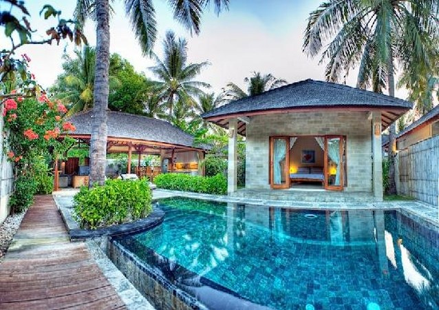 Hotels in gili islands and lombok  : Kelapa Luxury Villas
